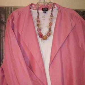 Eileen Fisher Woman Silk Jacket